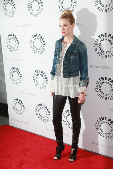 More Pics of January Jones Loose Blouse (4 of 14) - January Jones Lookbook - StyleBistro