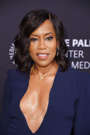 Regina King looked totally glam wearing this curly 'do at the Paley Honors: Celebrating Women in Television event.