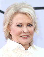 Candice Bergen sported a textured short 'do at the premiere of 'Book Club.'