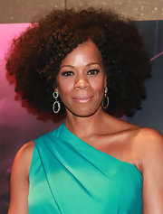 Kim Wayans wore a pair of double hoop earrings at the NYC premiere of 'Pariah.'
