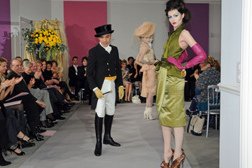 John Galliano Anna Kuchkina Paris Fashion Week Haute Couture S/S 2010 - Christian Dior