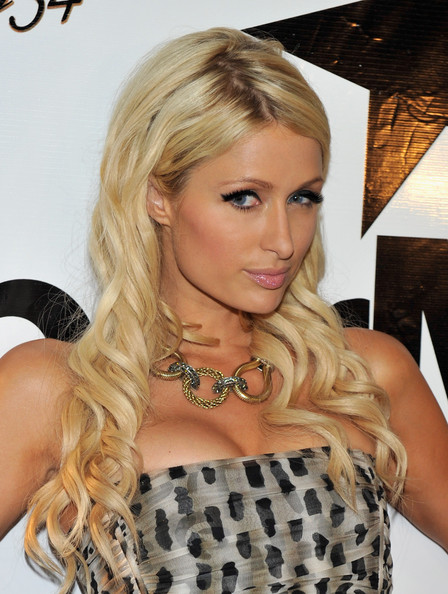 Paris Hilton Gold Collar Necklace