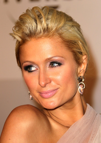 Paris Hilton Dangling Diamond Earrings