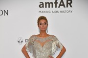 Paris Hilton Fringed Dress