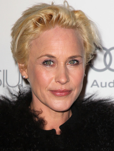 Patricia Arquette Messy Cut [hair,face,blond,hairstyle,eyebrow,chin,forehead,nose,lip,surfer hair,arrivals,patricia arquette,heaven,2nd street tunnel,california,los angeles,art of elysium,art of elysium,gala,6th annual black-tie]