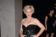 Patricia Arquette Strapless Dress