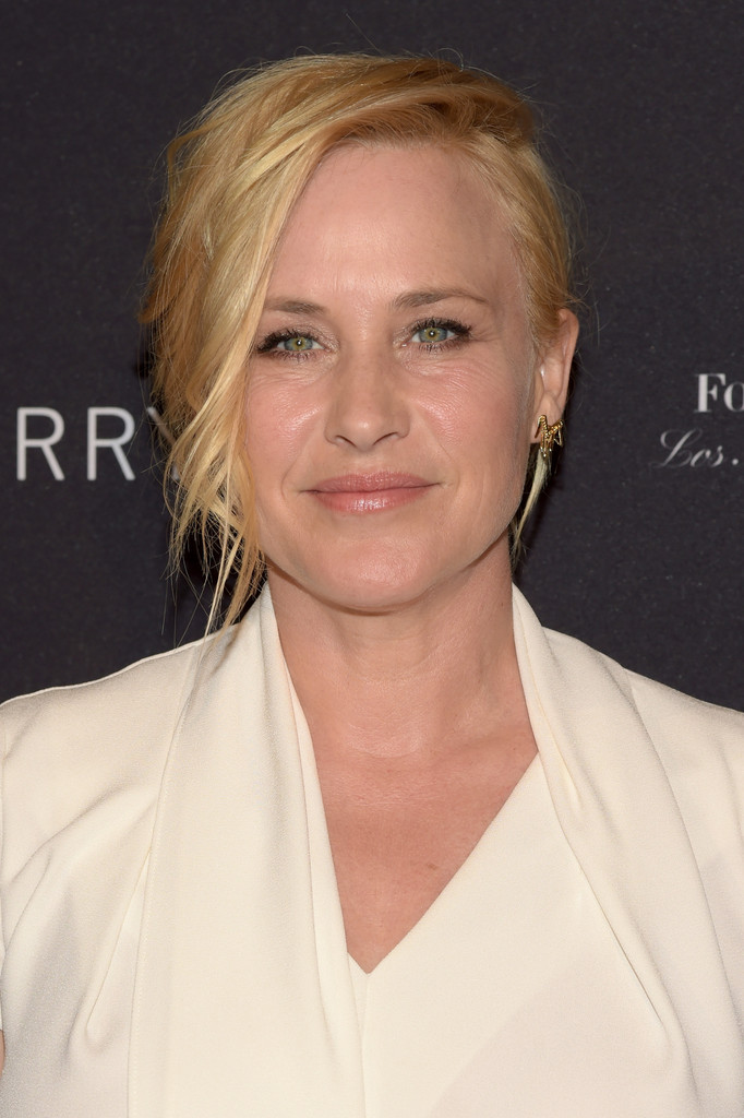 Patricia Arquette Messy Updo Updos