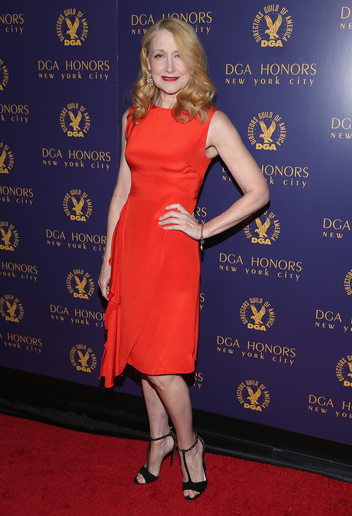 Patricia Clarkson Cocktail Dress Clothes Lookbook