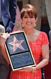 Patricia Heaton looked radiant on the Hollywood Walk of Fame in her adorable pixie cut.