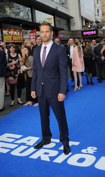 Paul Walker Men's Suit