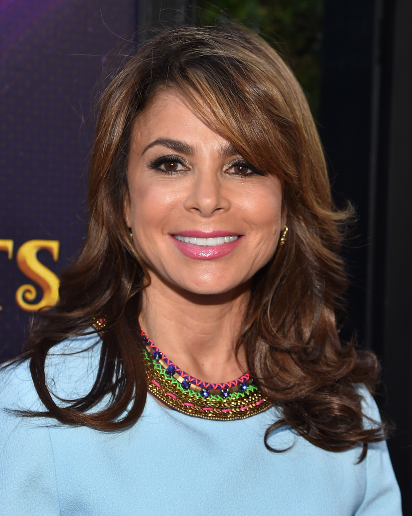 Paula Abdul Long Curls With Bangs Paula Abdul Looks