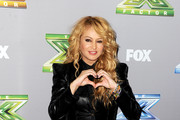 Paulina Rubio Leather Jacket
