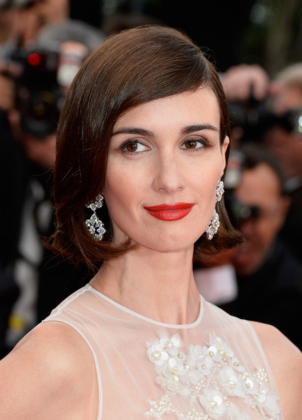 Paz Vega Red Lipstick [grace of monaco,hair,face,lip,hairstyle,eyebrow,skin,beauty,chin,shoulder,fashion model,premiere,paz vega,cannes,france,premieres,opening ceremony,cannes film festival]