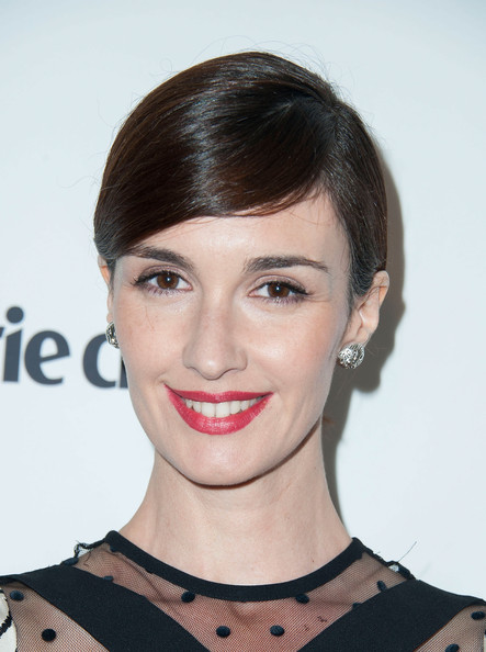 Paz Vega Short Side Part [paz vega,marie claires,marie claires fresh faces party,hair,face,eyebrow,hairstyle,lip,chin,skin,beauty,forehead,shoulder,soho house,west hollywood,california,fresh faces party]