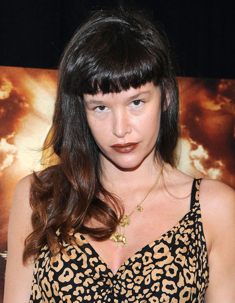 Paz de la Huerta Long Wavy Cut with Bangs