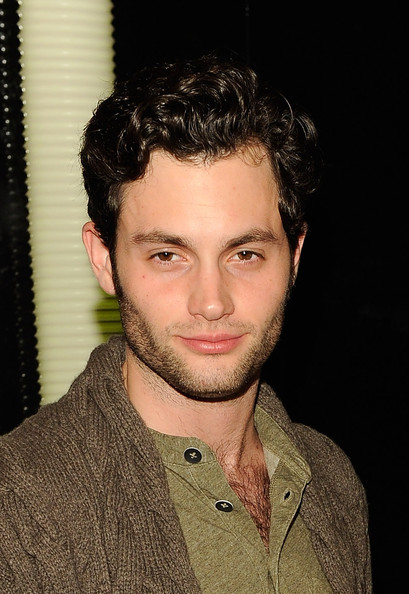 Penn Badgley Short Curls