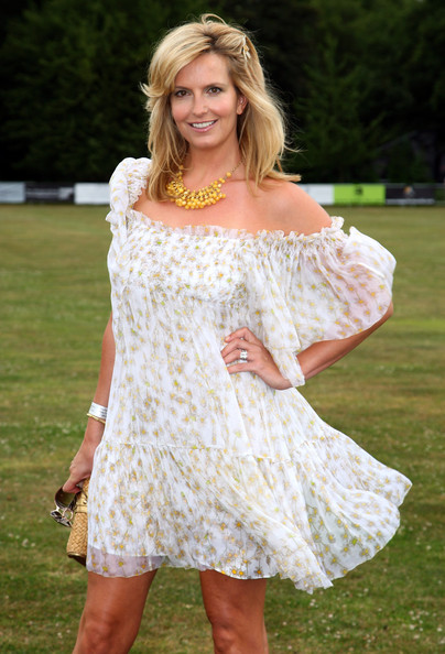 Penny Lancaster Off-the-Shoulder Dress