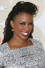 Shanola Hampton went to People's Ones to Watch party wearing fun-looking dreadlocks.