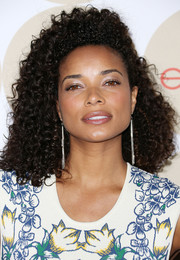 Rochelle Aytes looked striking with her voluminous curly 'do during People's Ones to Watch party.