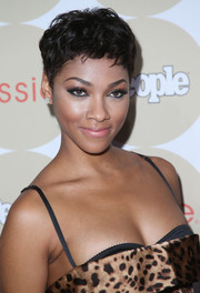 Bria Murphy looked breezy and chic with her textured pixie at the Ones to Watch party.