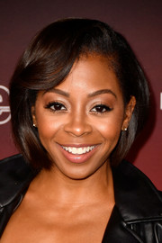 Bresha Webb wore her hair in an elegant bob during People's Ones to Watch event.