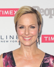Melora Hardin opted for a neat short hairstyle when she attended the People Ones to Watch event.
