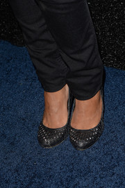 Jessica Lucas' studded gray pumps at the People StyleWatch Denim Awards were a perfect mix of edgy and cute.