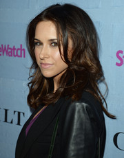 Lacey Chabert topped off her look with a glamorous curly 'do when she attended the People StyleWatch Denim Awards.