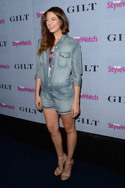 Analeigh Tipton looked cute and breezy in her jean romper at the People StyleWatch Denim Awards.