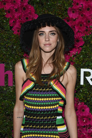 Chiara Ferragni looked fancy in her tasseled hat at the People Stylewatch & Revolve fashion event.