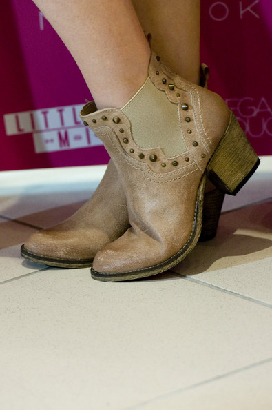 Perrie Edwards Ankle Boots