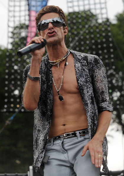 Perry Farrell Layered Sterling Necklace []