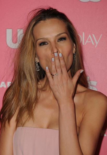 Petra Nemcova Neutral Nail Polish