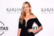 Petra Nemcova Off-the-Shoulder Dress