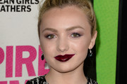 Peyton List Dark Lipstick