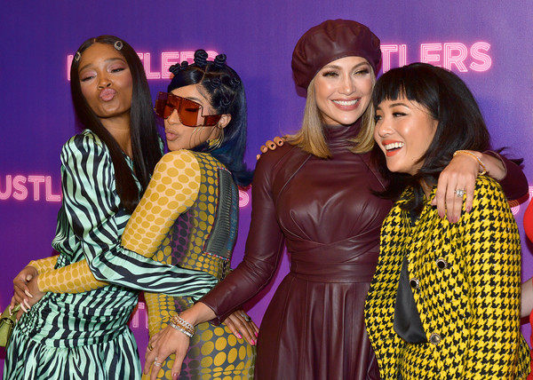 More Pics of Constance Wu Skirt Suit (1 of 11) - Suits Lookbook - StyleBistro [yellow,purple,event,youth,fashion,fun,magenta,leisure,smile,party,hustlers,keke palmer,constance wu,jennifer lopez,photo call,l-r,cardi b,los angeles,beverly hills,stx entertainment]