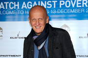 Pierluigi Collina Patterned Scarf