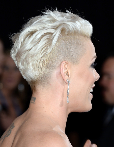More Pics of Pink Fauxhawk 1 of 19 Short Hairstyles