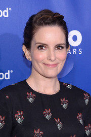Tina Fey looked charming with this braided bun at the Planned Parenthood 100th anniversary gala.