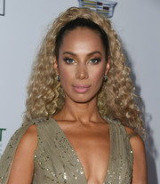 Leona Lewis styled her hair into a curly ponytail for the Point Foundation Honors Los Angeles 2018 Gala.