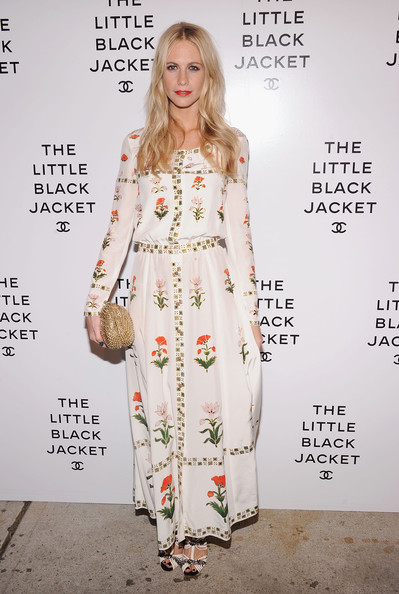 Poppy Delevingne Beaded Clutch [clothing,dress,fashion model,fashion,hairstyle,red carpet,street fashion,flooring,fashion design,carpet,poppy delevigne,new york city,chanel,swiss institute,the little black jacket event]