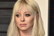 Portia Doubleday Long Straight Cut with Bangs