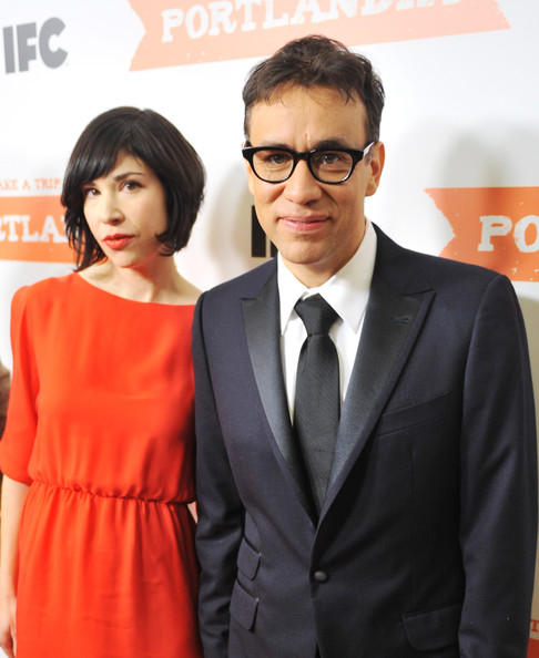 More Pics of Carrie Brownstein Cocktail Dress (1 of 9) - Carrie Brownstein Lookbook - StyleBistro