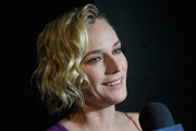 Diane Kruger sported a cute curled-out bob at the Prabal Gurung fashion show.