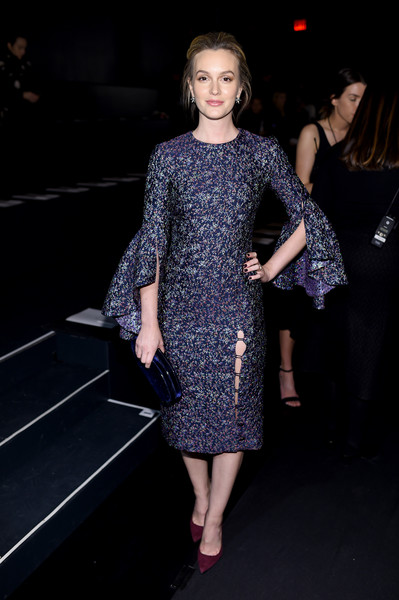 Leighton Meester at Prabal Gurung