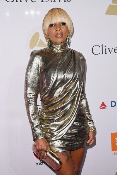 More Pics of Mary J. Blige Mini Dress (1 of 4) - Dresses & Skirts Lookbook - StyleBistro