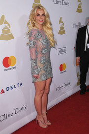 Britney Spears wore a ring from Jen Hansen on the red carpet at a Grammy party.