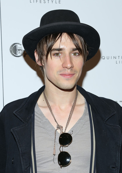 More Pics of Reeve Carney Skinny Jeans (4 of 4) - Reeve Carney Lookbook - StyleBistro [pre-met ball special screening of ``the great gatsby,the great gatsby,hair,hat,clothing,hairstyle,fedora,headgear,fashion accessory,cool,black hair,facial hair,arrivals,reeve carney,screening,pre-met ball,new york city,moma]