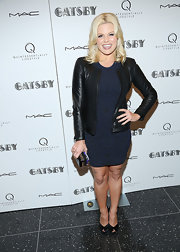 Megan Hilty's print dress looked subtle and sleek on the actress.