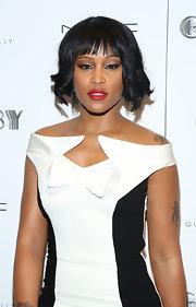Eve looked so elegant with this wavy bob!